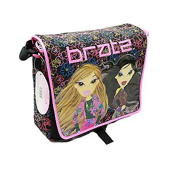 Messenger Bag - Bratz - Group w/Water Bottle New School Book Bag bhk000626