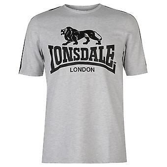 Lonsdale mens logo T shirt T-shirt tee Top Kortärmad Crew hals