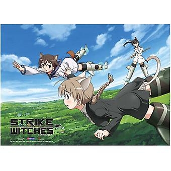 Fabric Poster - Strike Witches - New Flying in the Sky Wall Scroll ge77701