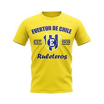 Everton de Chile Established Football T-Shirt (Yellow)