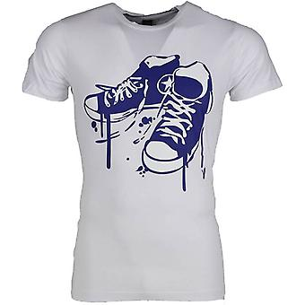 T-shirt-Sneakers-White