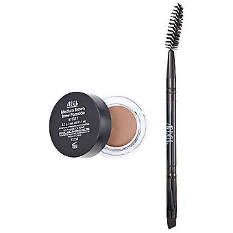 Ardell Easy To Use High Pigmented Light And Creamy Eyebrow Pomade - Medium Brown