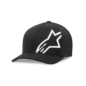 Alpinestars Mens Curve Snapback Cap ~ Corp Shift 2 black/white