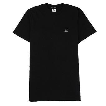 CP bedrijf cartoon terug print T-shirt zwart 999
