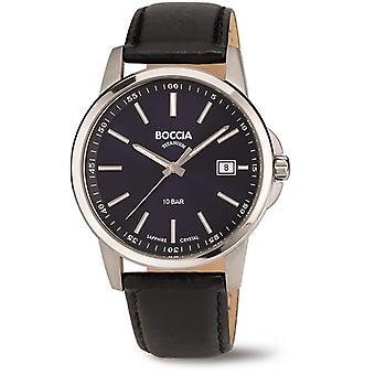 Boccia Titanium 3633-01 Miesten Watch