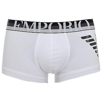 Emporio Armani большой орел ствол, белый, X-большой