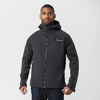 New Technicals Men's Stretch Softshell Jacket Black
