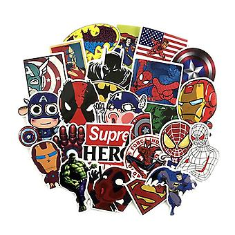 50x stickers, super Heroes #1