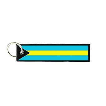 Port Cles Key Cle Homme Homme Fabric Brode Prints Bahamas Flag