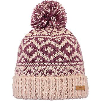 Barts Romance Bobble Hat in Pink