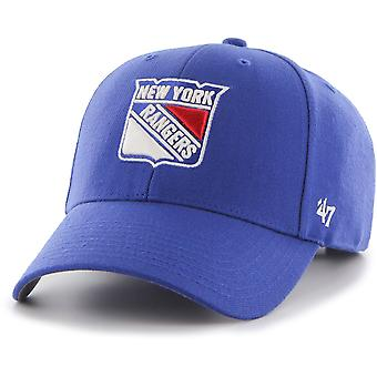 47 brand ontspannen fit Cap - MVP New York Rangers royal