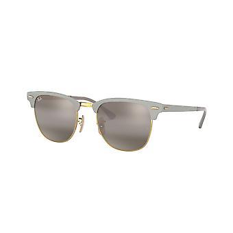 Ray-Ban RB3716 9158AH goud op Top matte GRE/grijs bi-mirror grijs zonnebril