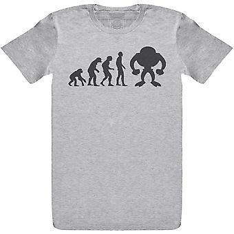 Evolution To A Robot - Mens T-Shirt