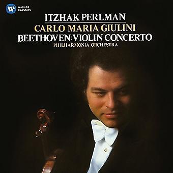 Beethoven / Perlman, Itzhak / Philharmonia Orchestr - Violin Concerto [CD] USA import