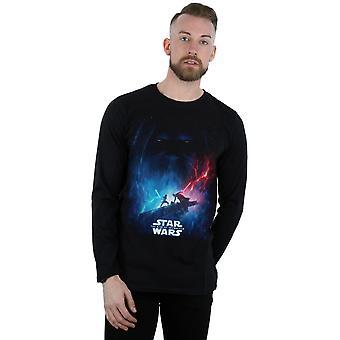 Star Wars mænd ' s fremkomsten af Skywalker Movie plakat langærmet T-shirt