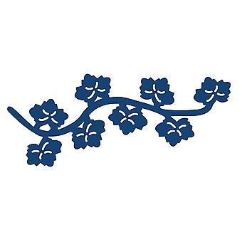 Mini Oriental Ivy floreren: gescheurde Lace Metal sterven voor Paper Card Craft
