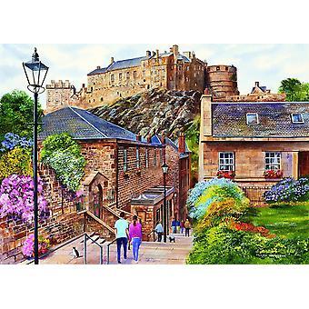 Gibsons - Edinburgh Vennel Street puzzel 1000 stuk