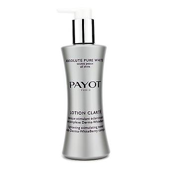 Payot Absolute zuivere witte Lotion Clarte 200ml / 6,7 oz