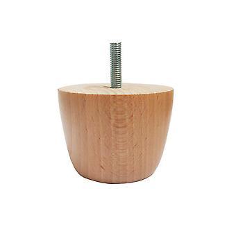 Round wooden furniture Leg 5.5 cm (M8)