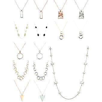 Dlhý kovový náhrdelník