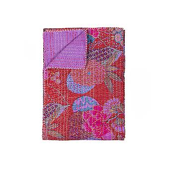 """50"""" x 70"""" Multi colored Eclectic Bohemian Traditional  Throw Blankets"""