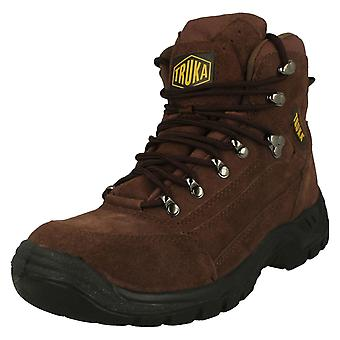Mens Truka Safety Oil Resistant Sole Ankle Boots 1147-S03