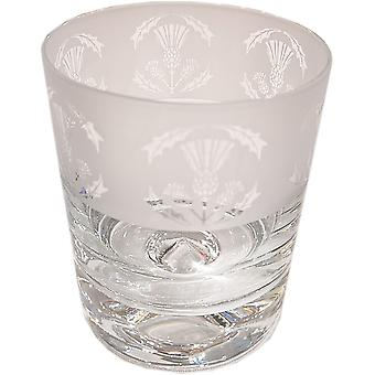 Animo Animo Crystal Whisky Tumbler 30cl - Thistle