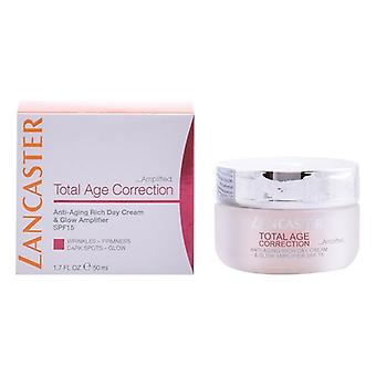 Day-time Anti-aging Cream Total Age Correction Rich Lancaster Spf 15 (50 ml)