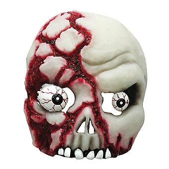 Bloedige schedel Gid.