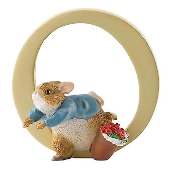 Beatrix Potter Peter Rabbit Letter O