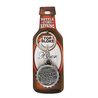 History & Heraldry Keyring - Jordan Bottle Opener