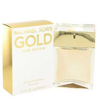 Michael Kors Gold Luxe By Michael Kors Eau De Parfum Spray 3.4 Oz (women) V728-503356