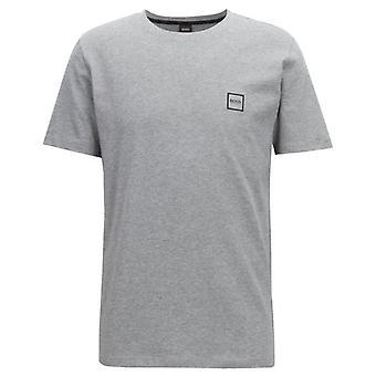 Boss Orange Tales Plain T-Shirt Grey 051 50389384