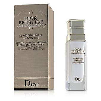 Christian Dior Dior Prestige White Collection Light-in-nectar Exceptional Brightening And Regenerating Deep Serum  30ml/1oz