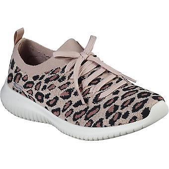 Skechers Mujeres Ultra Flex Safari Tour Slip On Zapatos