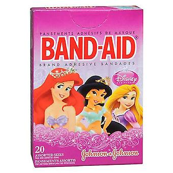 Band-aid children's bandages, disney princess, assorted sizes, 20 ea