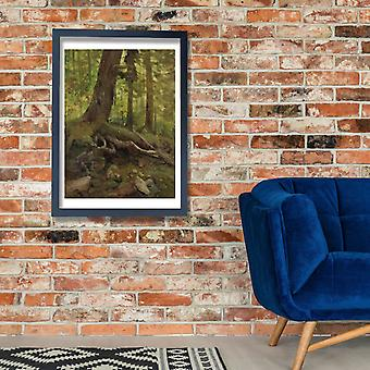 Albert Bierstadt - Hunter in the White Mountains Poster Print Giclee