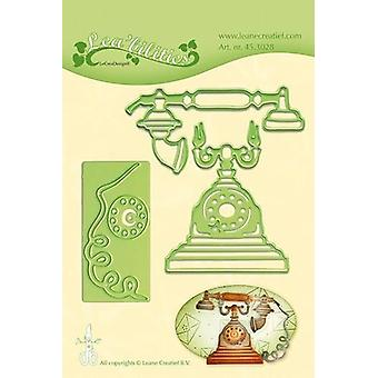LeCrea - Lea'bilitie Vintage telephone Cut and Embossing Die 45.3028 6cm