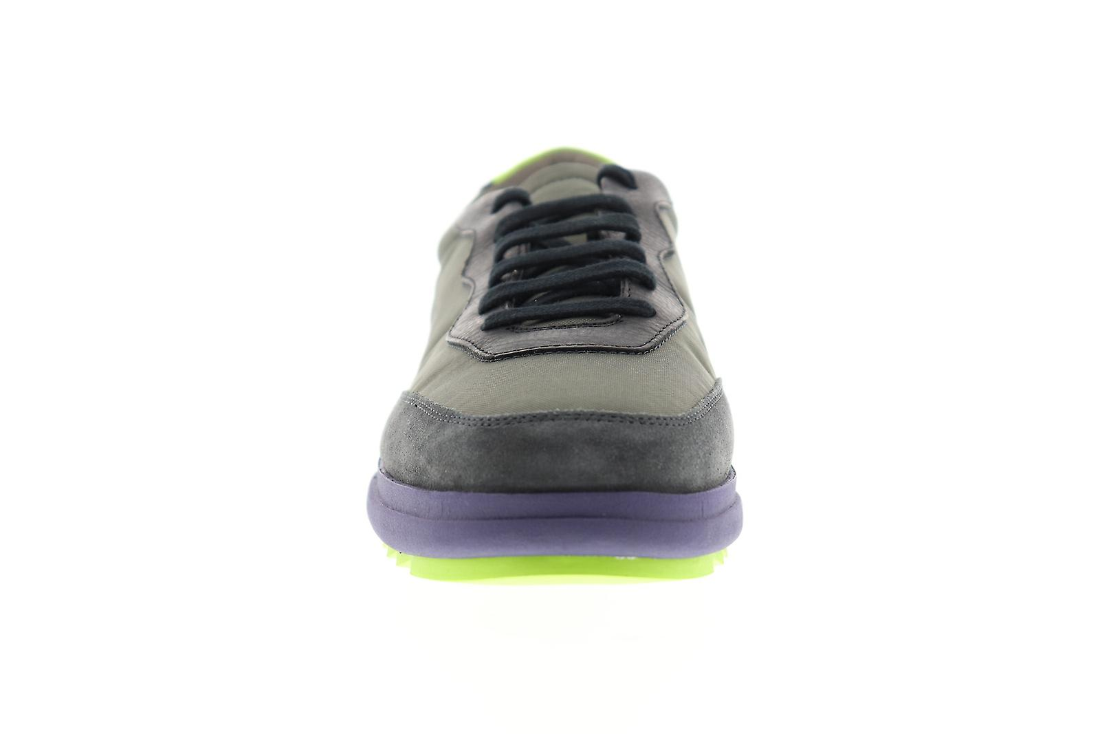 Camper Marges Mens Green Lace Up Low Top Sneakers Shoes