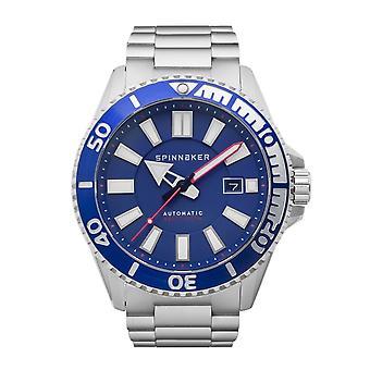 Spinnaker SP-5074-22 Gent's Amalfi Blue Dial Wristwatch