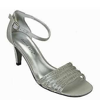 Elmurndra Womens Terra Open Toe Ankle Strap Classic Pumps