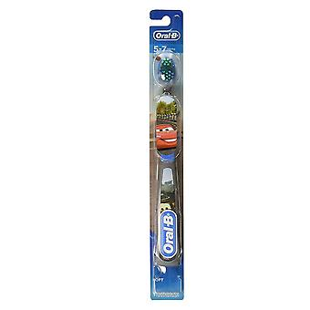 Oral-b disney cars toothbrush, ages 5-7, 1 ea