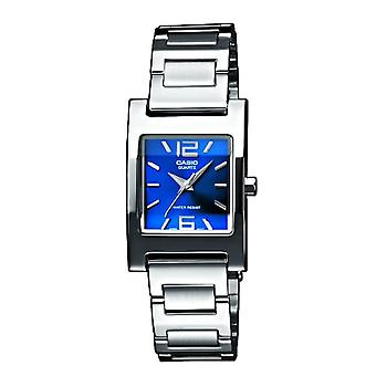 Casio Analog quartz women's watch with stainless steel band LTP-1283D-2A2EF