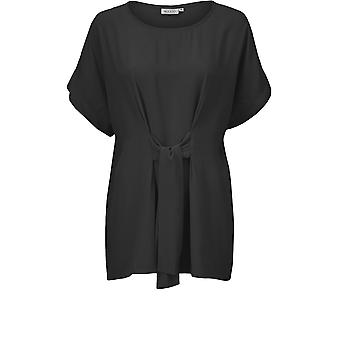 Masai Clothing Dafna Black Chiffon Top