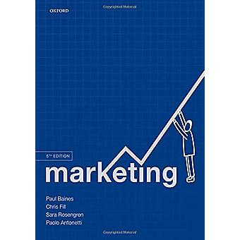 Marketing by Paul Baines - 9780198809999 Book