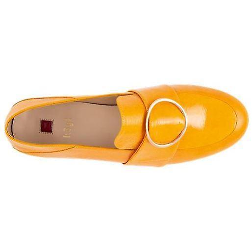 Hogl travella żółte mokasyny damskie żółte DuFuJ