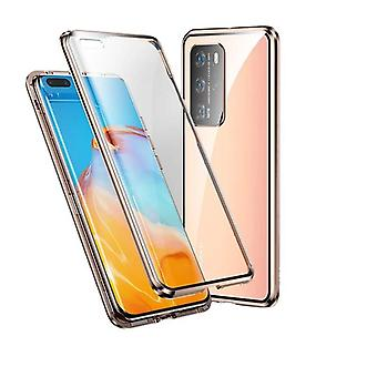 Huawei P40 Shell Doppelseitiges Gold