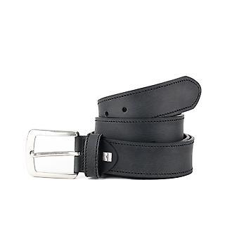 Black Casual Men's Belt