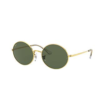 Ray-Ban Oval RB1970 9196/31 Legend Gold/Green Sunglasses