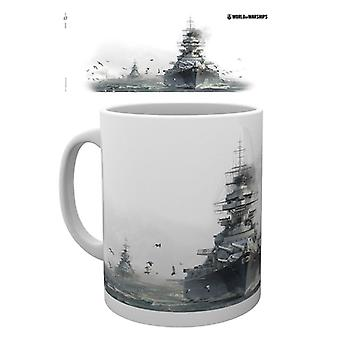 World of Warships Bismarck Mugg